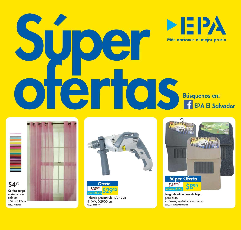 Nuevo catalogo de super ofertas ferreteria epa febrero - Hogarium catalogo de ofertas ...