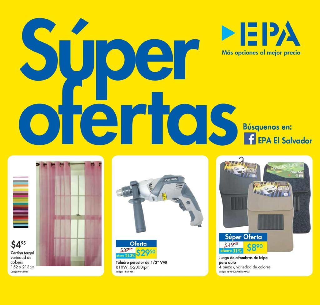 Nuevo catalogo de SUPER OFERTAS Ferreteria EPA febrero 2016