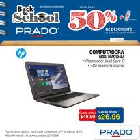 PRADO promociones Computadora portatil intel core i3
