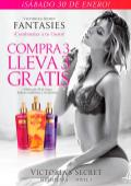 Victoria Secret FANTASIES splash promotions Comprs 3 lleva 3 GRATIS