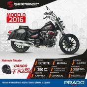new motorcycle COYOTE 2016 en prado el salvador