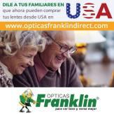 Comprar online en opticas franklin desde estados unidos