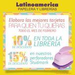 DESCUENTOS Latinoamericana el salvador papeleria y librerias