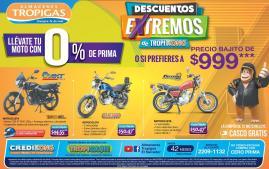 Descuentos en motos gracias a almacenes tropigas - 24feb16