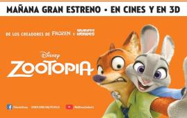 Disnes ZOOTOPIA movie premier 2016