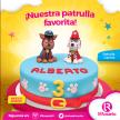 Especialidades en pasteles del EL ROSARIO paw patrol