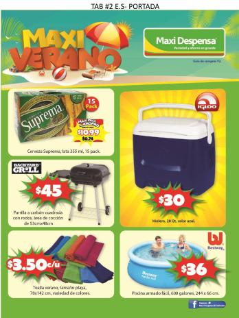 Guia de compras n2 - 2016 - de supermercado maxi despensa el salvador