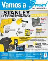 Let go to FREUND electric tools STANLEY offers