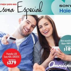 Ofertas omnisport para compartir electrodomesticos en pareja