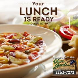 Olive garden el salvador YOUR LUNCH its ready italian food