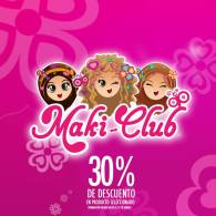 Promocion especial en SIMAN productos MAKI CLUB for girls