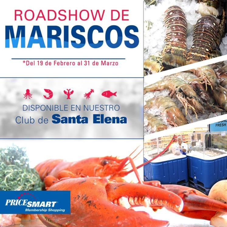 ROADSHOW de mariscos 2016 pricesmart santa elena