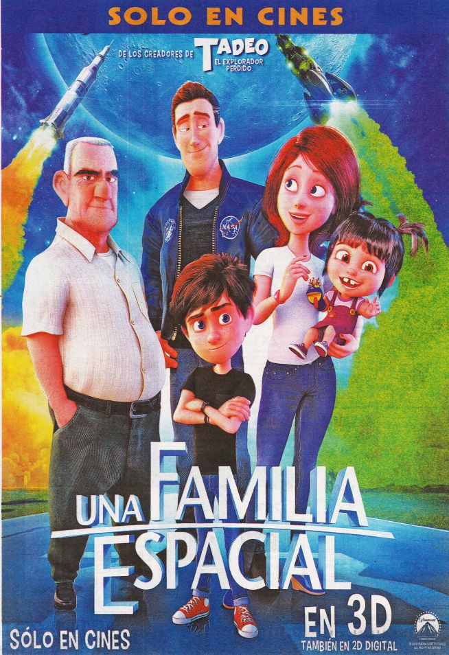 SPACIAL family the movie premier 3D theater