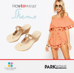 TRENDS how to wear SKEMO sandals PARK Avenue