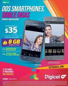 Valetines day promotions 2 SMARTPHONES samsung via DIGICEL