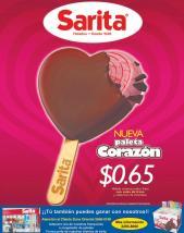 nueva pañeta corazon de helados sarita dia de los enamorados