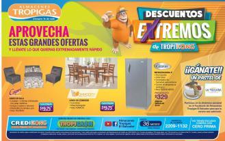 ofertas extremas en salas comedores y refris tropigas - 27feb16