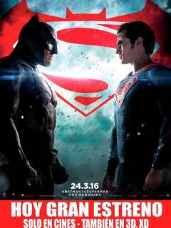 Ahora gran estreno BATMAN vs SUPERMAN the movie