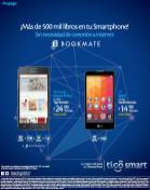 BOOKMATE app en los smartphone LG de tigo