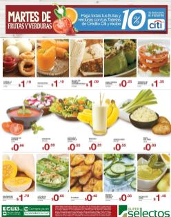 Martes de ofertas en frutas y verduras selectos - 15mar16