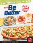 PIZZA hut new be Better menu bajo en calorias