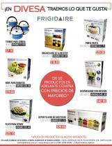 Precios de mayoreo en DIVESA productos FRIGIDAIRE