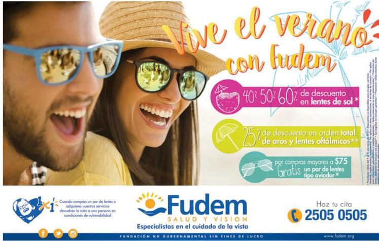 Promociones de verano en FUDEM el salvador