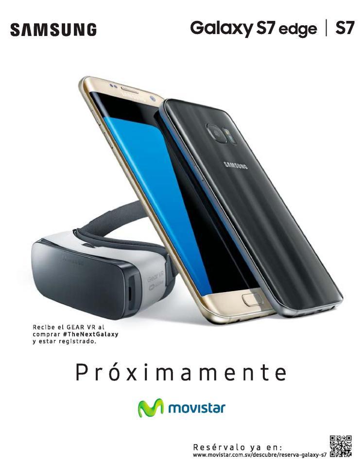 Reserva tu smartphone samsung S7 con realidad aumentada