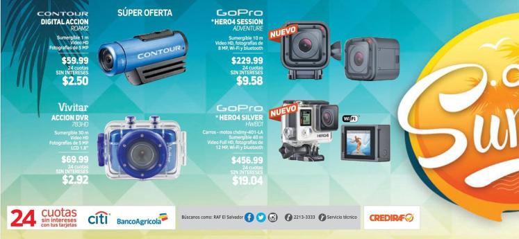 SPORT cameras to summer trip actions Go Pro