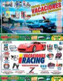 Vacciones racing carros con nuevos accesorios