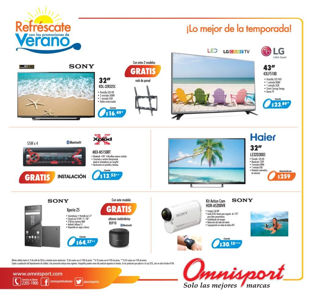 almacenes omnisport el salvador catalogo de verano 2016 - pagina 1