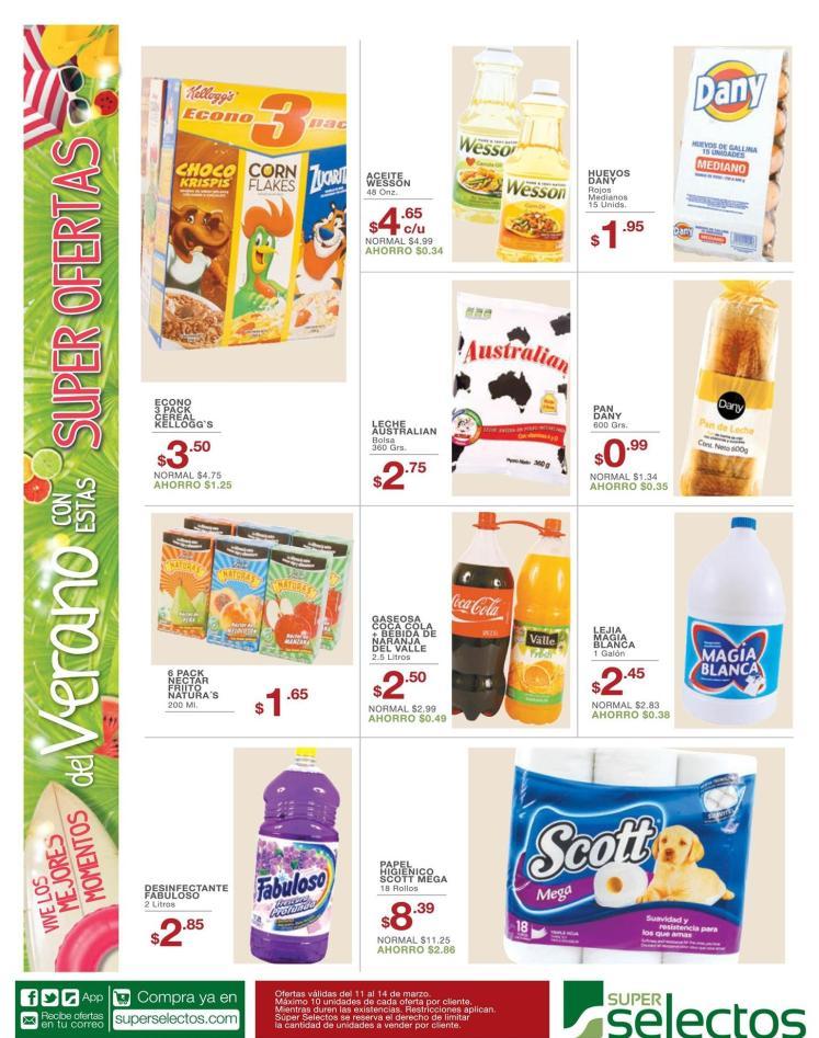 verano de super ofertas selectos - 11mar16