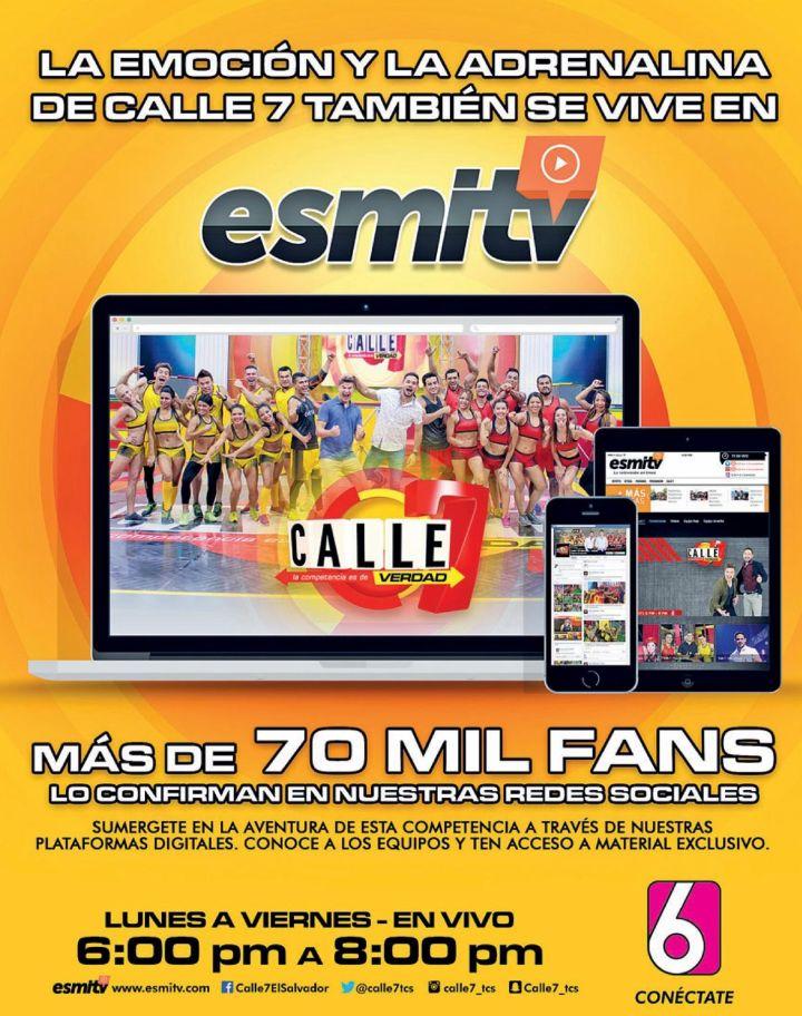 CALLE 7 reality show - toda la informacion videos y noticias