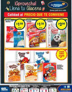 Cereales para chicos y grandes para tu alacenas bajos en precio