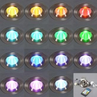 EASY lamparas LED de multiples colores