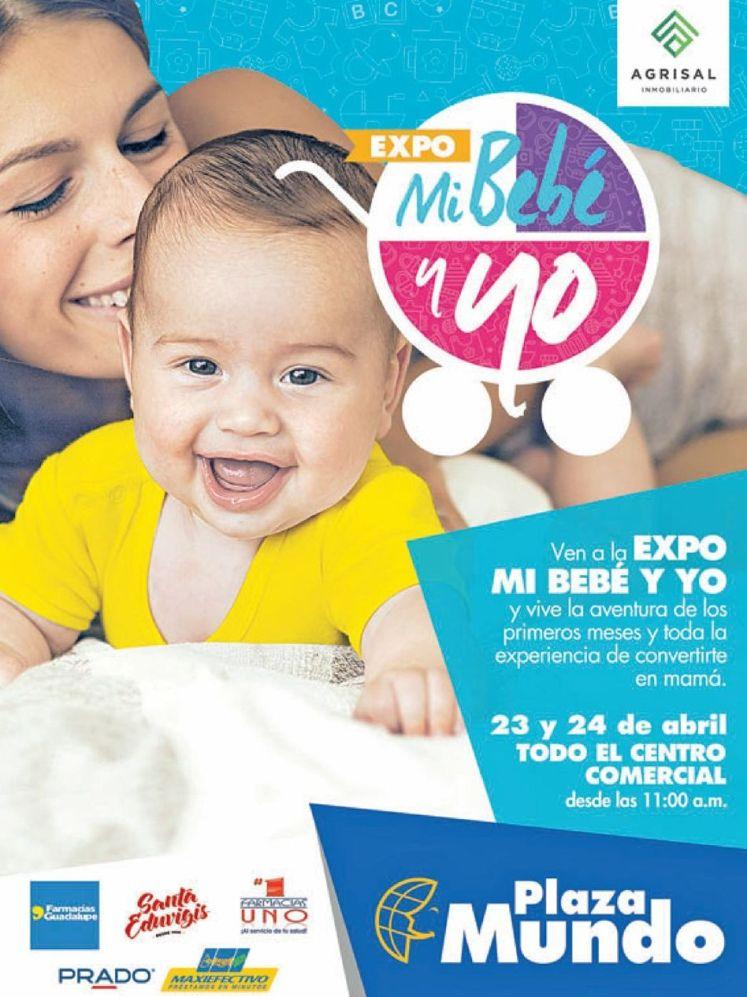 EXPO mi bebe y yo en plaza mundo soyapango