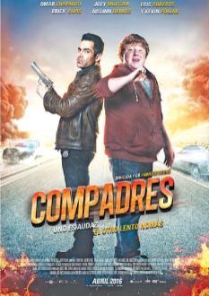 Estreno de la pelicula COMPADRES comedia uno es audaz el otro lento nomas