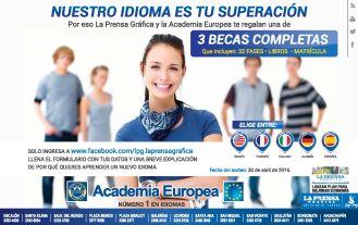 Estudia un nuevo idioma con las becas de la acedemia europea