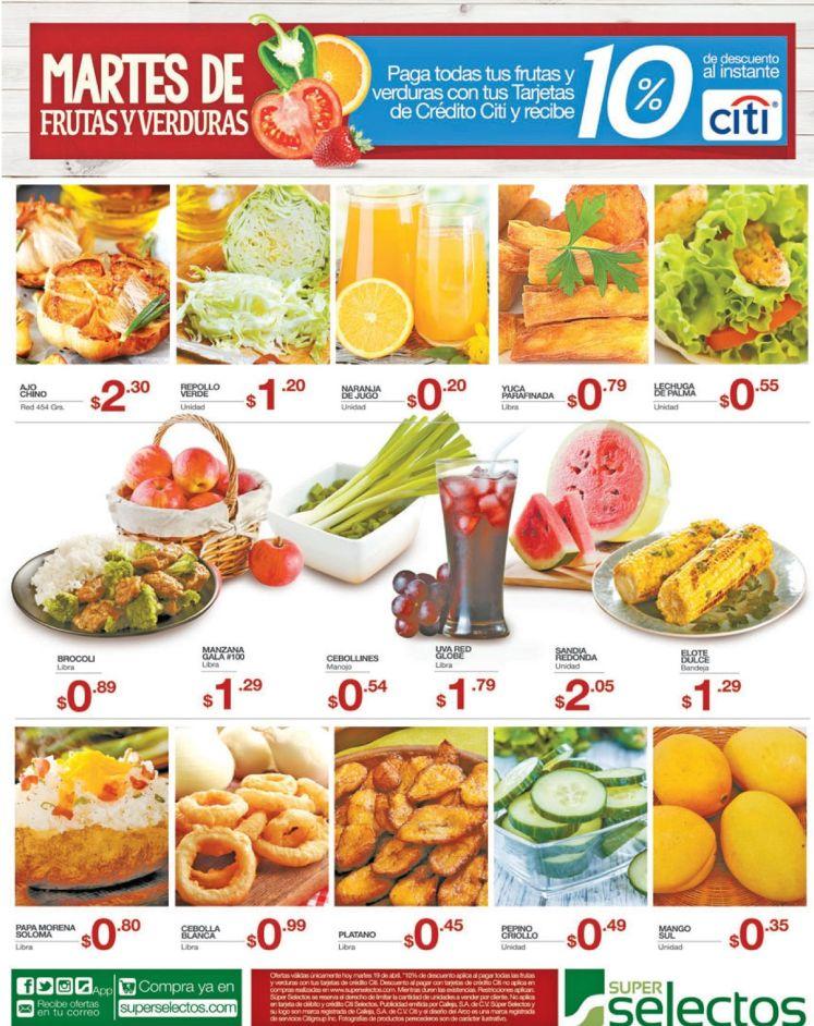 Jugos naturales para tu desayuno con Super Selectos ofertas - 19abr16
