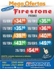 Mega ofertas en llantas FIRESTONE gracias a DIPARVEL- 28abr16