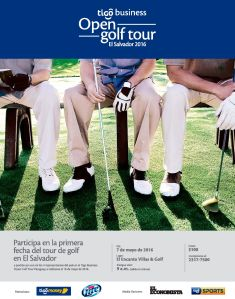 OPEN GOLF TOUR el salvador 2016 - Tigo business - Tigo Sports
