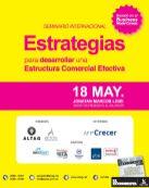 Seminrio internacional ESTRATEGIAS estructura comerical efectiva