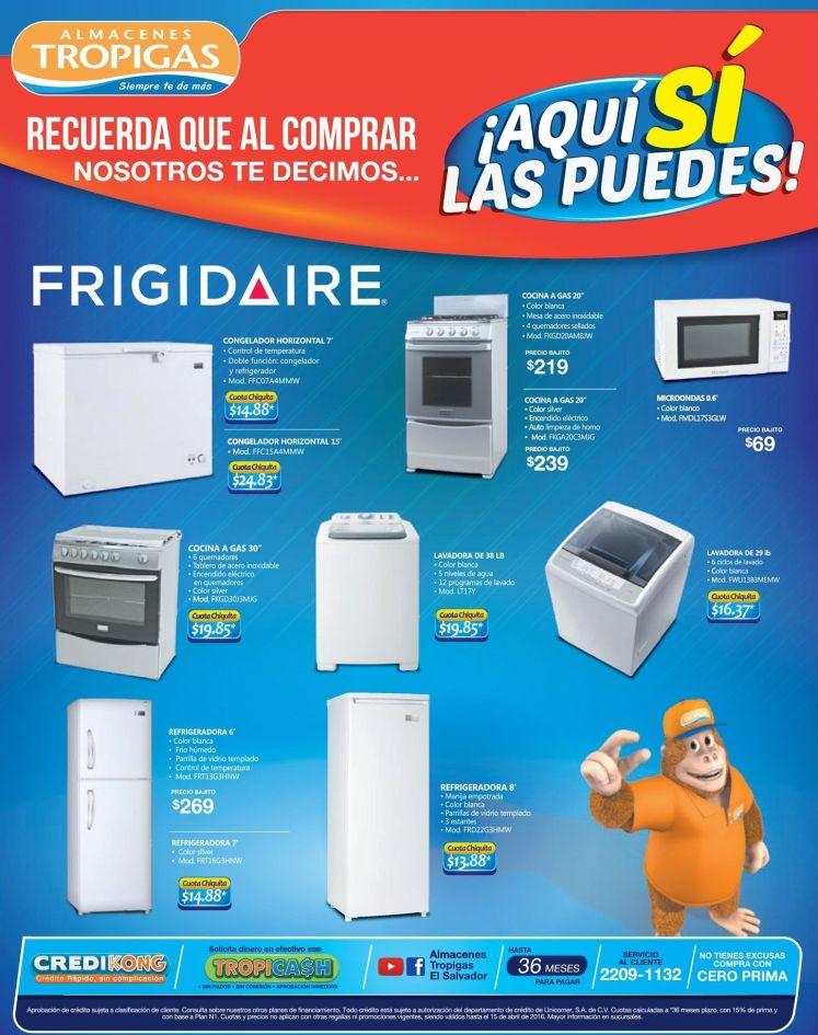 Si quieres puedes comprar a buen precios tus electro FRIGIDAIRE