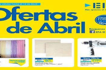 catalogo con las ofertas de Ferreteria EPA en abril 2016