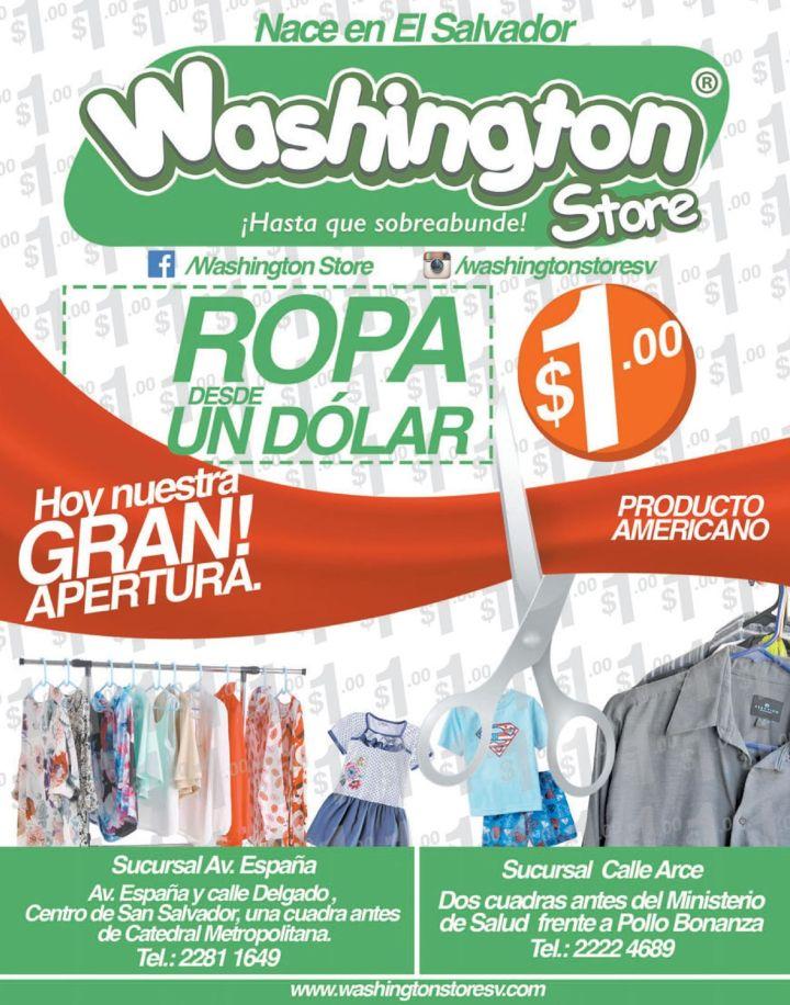 APERTURA de la nuevas tiendas WASHINGTON store productos americanos