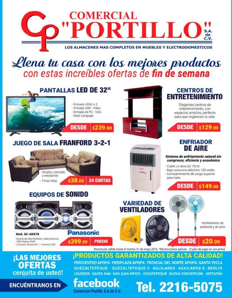 Encuentras ofertas de fin semana en electro gracias C Portillo