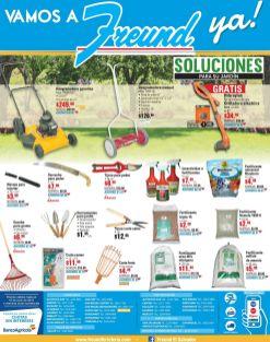 FREUND jardineria - Desgramadora manual y automatica sistema gasolina