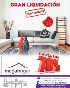FURNITURE deals hasta 70 off en MEGAHOGAR el salvador