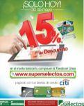 Haz tus compras del super ONLINE y recibe 15 off ahora 30may16