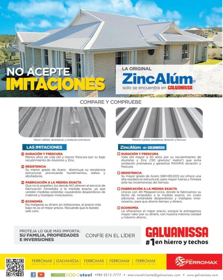 LUNES ofertas de ferreteria FERROMAX techos galvanisa - 16may16